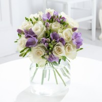 Lilac Freesia & Rose