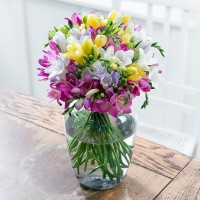 Mixed Freesia Bouquet