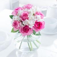 Rose & Paperwhites