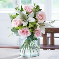 Blush Pink Rose & Lily