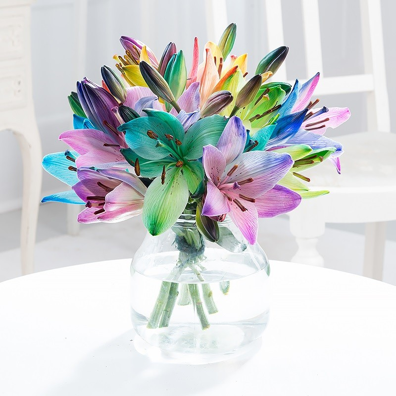 Rainbow Flowers | Rainbow Flower Bouquets | Blossoming Gifts