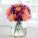 Bright Rose & Alstroemeria