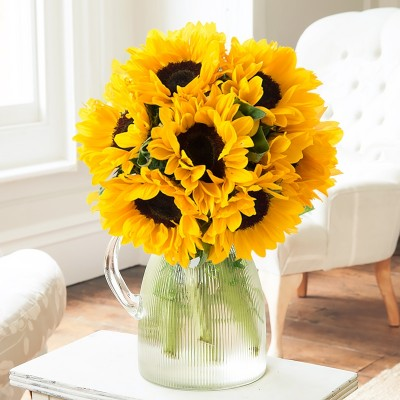Yellow flowers beautiful yellow flower bouquets blossoming gifts summer sunflowers mightylinksfo