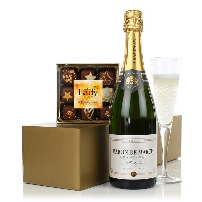 Champers & Chocolates Gift Set