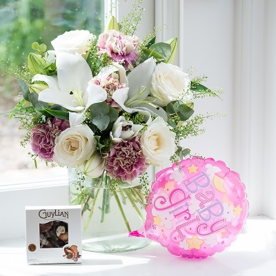 New baby flowers blossoming gifts flower delivery negle Choice Image