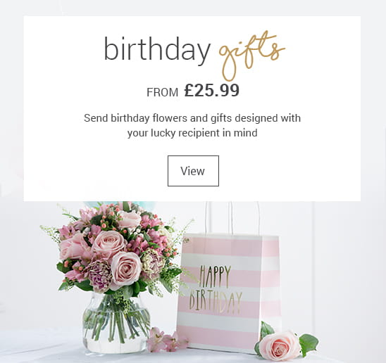 Beautiful flower bouquets personalised gifts blossoming gifts birthday flowers and gifts negle Choice Image