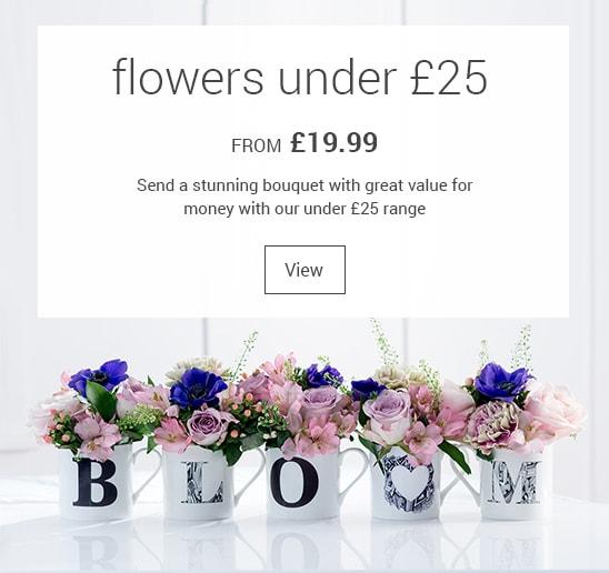 Flowers Under £25
